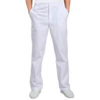 Антистатические мужские брюки Элком ELK-130M-Б126 – белые