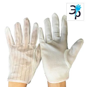 Антистатические (ESD) перчатки Beltema S-XXL – упаковка 10 пар.