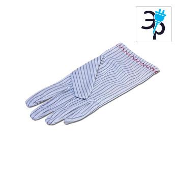 Антистатические перчатки EZETEX – полиэстерные, токопроводящие