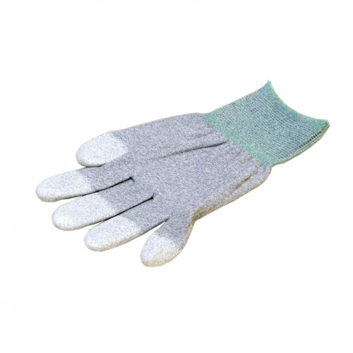 Антистатические перчатки EZETEX с покрытием пальцев – нейлоновые