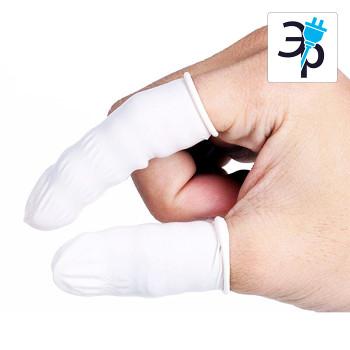 Напальчники антистатические CLEANTEK CG-916 – белые, 1000шт