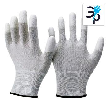 Перчатки токопроводящие из полиэстера и карбона CLEANTEK CG-202