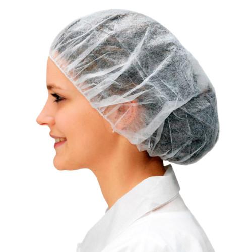 Антистатическая одноразовая шапочка CLEANTEK CCT - белая