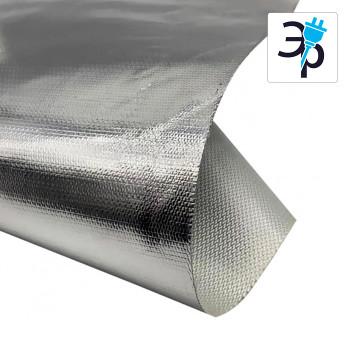 Текстурированная ткань с ламинацией алюминиевой фольгой - стекловолокно