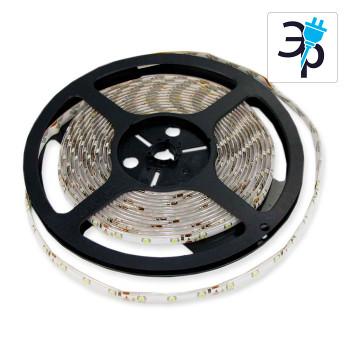 Лента светодиодная SMD 3528, 300 Led, IP65, 12V, белый 6000К, 75793