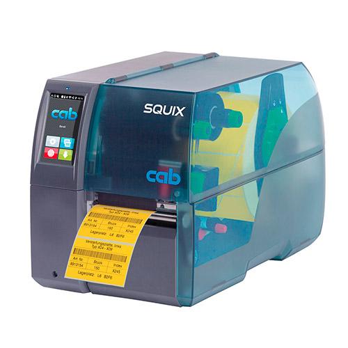 Термотрансферный принтер CAB SQUIX 4 для печати этикеток