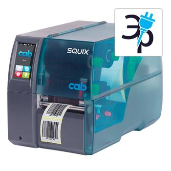 Термотрансферный принтер CAB SQUIX 4 M для маркировки трубки и бирок