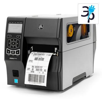 Промышленный термотрансферный принтер этикеток Zebra ZT410