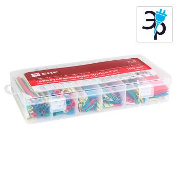Набор ТУТ EKF PROxima бокс 5 цветов разного диаметра - 100мм, 105шт
