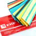 Трубка термоусаживаемая EKF PROxima (2:1) 20/10 - 100мм, 7 цветов по 3шт