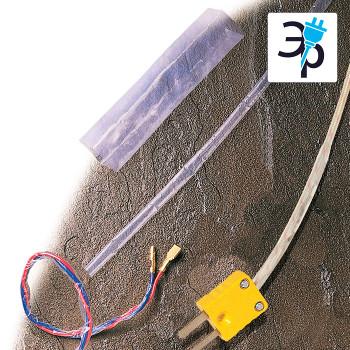 Химически стойкая термоусадочная трубка Canusa Deray PTFE из тефлона