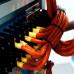 Термоусадочные трубки-маркеры самозатухающие на перфорированной ленте AMS / RSFR – 2:1, 3:1