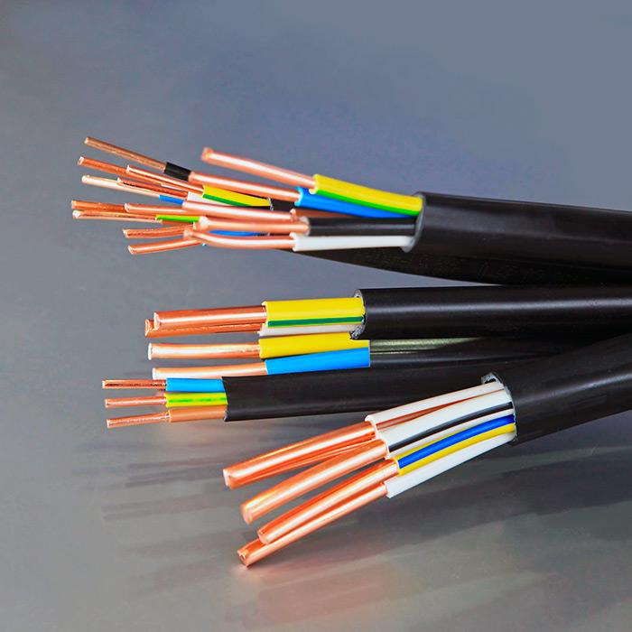 Медный электрический кабель