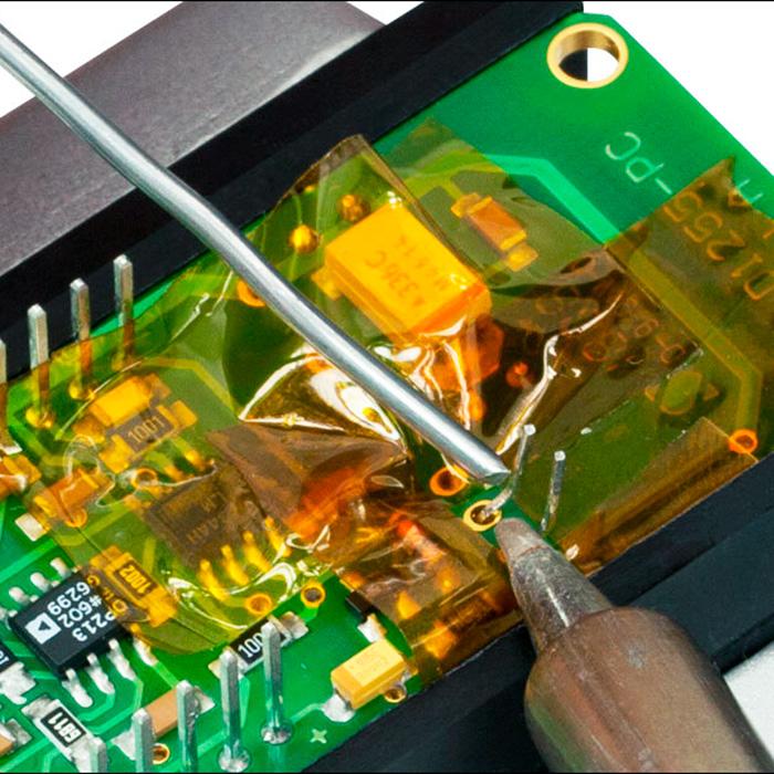 Пайка электротехнических компонентов