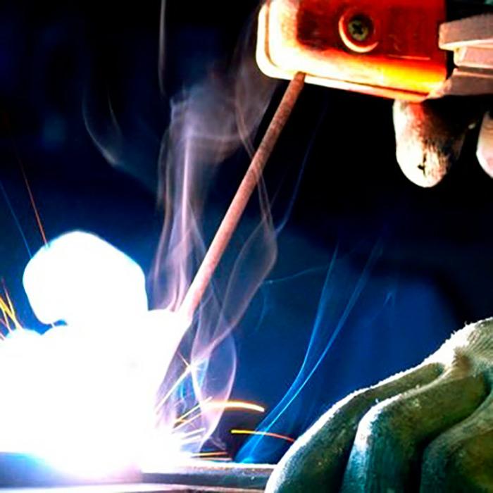 Сварка электродами МР-3