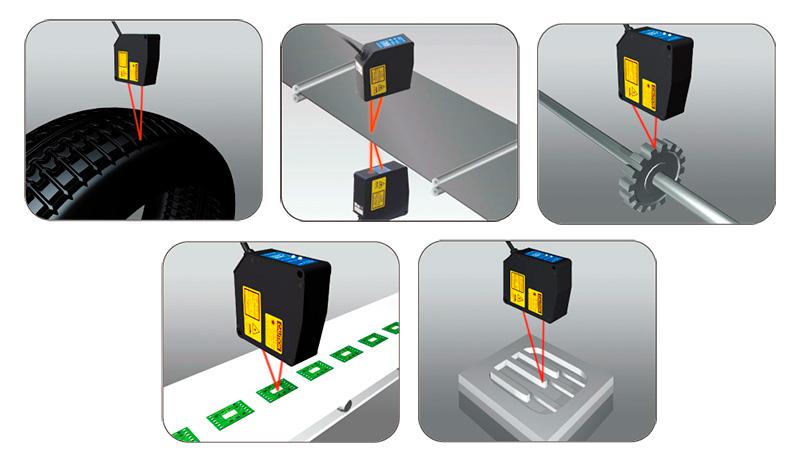 Применение лазерных датчиков