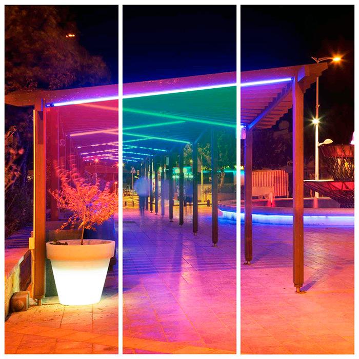 Уличная подсветка объектов