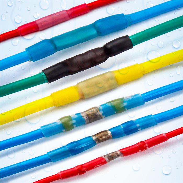 Термоусаживаемые трубки с клеевым слоем
