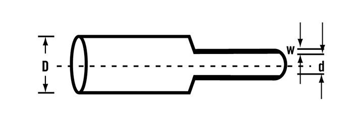 Размеры трубок Canusa Deray HB